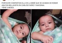 Raptan a bebé de 5 meses en Saltillo; la arrancaron a golpes de los brazos de su madre