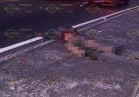 Muere atropellado adulto mayor cerca del crucero de Tecomán.