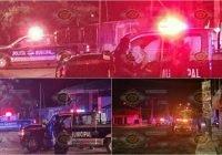 Sin lesionados, chocan dos patrullas de la DSP de Tecomán