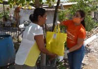 DIF Municipal Colima lleva dotaciones alimentarias a familias de comunidades