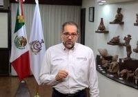 Gobernador destina 100 millones de pesos en salud por Covid19