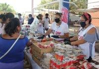 Mercadito DIF visita las comunidades de Tecolapa y Cerro de Ortega