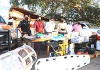 Alcalde de Tecomán dota de equipo a Protección Civil para atender la contingencia por COVID-19
