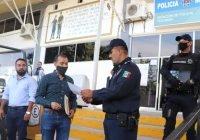 Nombran a Lupe Medina encargado de la policía municipal de Tecomán y a Rigoberto Rosiles como Director de Vialidad