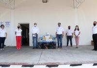 Gobierno del Estado recibe donaciones de material médico