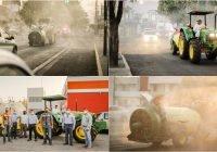 Se refuerzan las sanitizaciones en el municipio de Colima con el apoyo del sector privado.