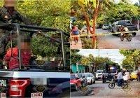 Policía municipal detiene a sujeto armado tras hacer disparos en la colonia Elías Zamora, Tecomán