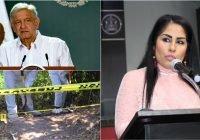 AMLO confirma la muerte de la diputada Anel Bueno; ofrece condolencias a la familia