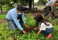 """La dirección de atención ciudadana de Cuauhtemoc arranca programa de reforestación """"Recuperación de espacios públicos 2020"""""""
