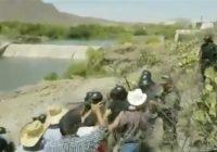 Chocan GN y agricultores por presa en Chihuahua