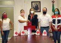 Municipios del Estado se suman a la Colecta Nacional de la Cruz Roja