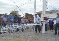 Cumple su compromiso alcalde Rafael Mendoza: Inaugura nuevo pozo que garantice suministros de agua en Quesería