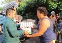 Más de 2 mil 700 familias se han beneficiado con diversos apoyos en Armería: Salvador Bueno