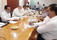 Dialogan titulares de SGG y SSP con diputados sobre Seguridad Estatal