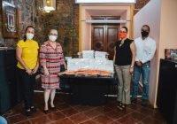 Diputada Remedios Olivera se suma a las acciones preventivas de salud del Ayuntamiento de Colima.