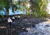 Policía Municipal de Colima y Servicios Públicos realizan limpieza en ríos de la ciudad