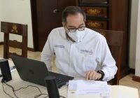 Gobernador pide a instituciones de salud incrementar capacidad hospitalaria