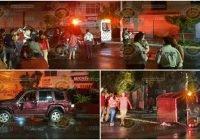 Vuelca camioneta esta noche en Tecomán; hay dos hombres lesionados