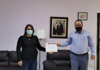 Recibe Instituto Colimense de las Mujeres constancia de transparencia de Infocol
