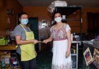 Presidenta de minatitlán apoya 371 comerciantes por tema de pandemia