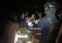 Rescatan a joven motociclista que cayó en un barranco en la comunidad de La Central, en Manzanillo