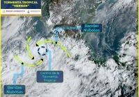 """""""Hernán"""" seguirá ocasionando lluvias torrenciales en Colima, Jalisco y Michoacán"""