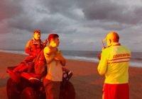 En Colima un joven se encuentra desaparecido tras haber sido arrastrado por la playa