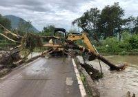 Continúa el Alcalde Carlos Carrasco las gestiones para construir nuevo puente en la comunidad de Las Conchas