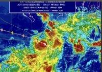 """""""ELIDA""""se localizaal suroeste de las costas de Colima; vienen fuertes vientos y lluvia"""