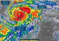 """""""Genevieve"""" es categoría 4en la y se localiza a 380 kilómetros al oeste-suroeste de Manzanillo"""