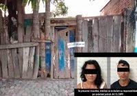 En cateo, pareja es detenida tras asegurarle droga en un domicilio en la Miguel Hidalgo, en Tecomán