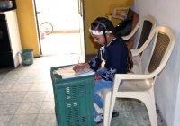 """Gestionan al Regidor Ángel Venegas, """"El Hombre Barrio"""", que las escuelas sean puntos de acceso a Internet libre para la actividad escolar"""