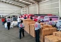 Llegan a Colima insumos para apoyar a familias manzanillenses: Gobernador