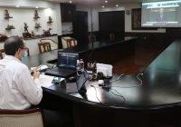 Gobernador ratifica trabajo coordinado con la API Manzanillo