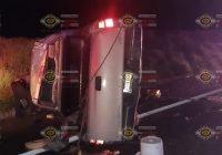 Graves dos mujeres y un hombre tras percance sobre la autopista Guadalajara-Colima; en Cuauhtémoc