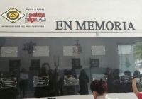 Develan muro de honor en conmemoración a 16 agentes caídos de la Policía Estatal de Colima