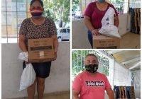 Entrega DIF Tecomán apoyos de asistencia alimentaria a 120 familias