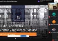 Enseñan cómo utilizar indicadores y biblioteca del Banco de México, en taller virtual