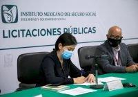 Transmitió IMSS por Internet primeros procesos de licitación que fortalecen la transparencia