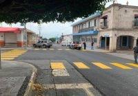 Para complementar  el mejoramiento de 50 calles, Cuahutémoc avanza en señalización vial y peatonal