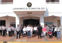 """Promueve en Tecomán, campaña """"Protegete, protégeme"""" de concientización sobre el uso de cubrebocas"""