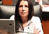 La Senadora Gricelda Valencia de la Mora se accidenta en La Salada; perdió el control del volante