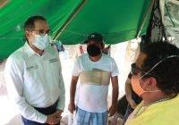 Gobernador atiende y respalda a comerciantes de Playa La Audiencia