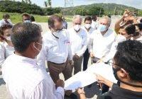 Gobernador supervisa obra para brindar energía limpia a la UTEM