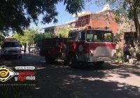 Se incendia vivienda en Villa de Álvarez; logran rescatan a una menor