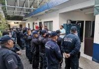 Anuncia alcalde Rafael Mendoza nuevo aumento de salario a los policías municipales de Cuauhtémoc.