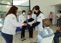Entrega Salud 100 prótesis dentales en el Estado