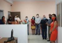 Azucena López Legorreta agradece a funcionarios del Ayuntamiento de Colima por su visita a Casa CaraCol