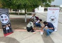 Implementa prevención de delito brigada de rescate en espacio público de la colonia San José en Tecomán