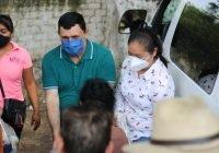 Se atiende a grupos vulnerables de Ixtlahuacán con dotaciones alimentarias